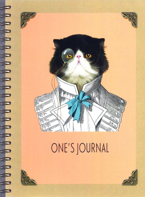 One's Journal is a dangerous item..but how cool?!